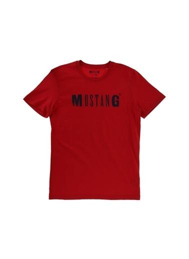 Mustang Tişört Kırmızı